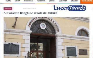 Lucer@web – Al Convitto Bonghi le scuole del futuro