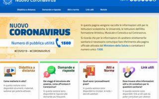 MIUR: Coronavirus – Pagina dedicata e FAQ